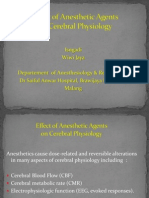 45. Effect of Anesthetic Agents