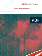 Vehicle Rental Details - Case Studies