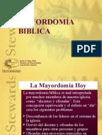 Mayordomía Biblica