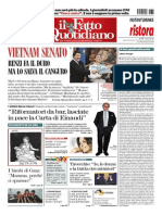 Il Fatto Quotidiano - 30.07.2014