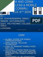 Gsm and Cdma