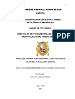 Modelo de Dinámica de Sistemas para la Implantación de un Sistema Integrado de Gestión