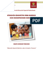 Atención Para Alumnos Con Disc Auditiva (Antología)