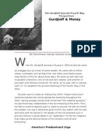The Gurdjieff Journal Gurdjieff and Money