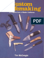 Custom Knifemaking 10 Projects... Tim McCreight PDF(S)