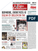 Il Fatto Quotidiano - 29.06.2014