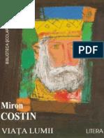 Miron Costin - Viata Lumii (Tabel Crono)