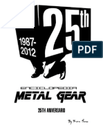 Enciclopedia Metal Gear 25 Anniversary