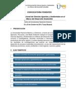 Convocatoria Ponentes Congreso ECAPMA 2014