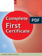 FCE Complete_French Wordlist