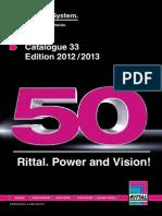 Catalogue Rittal