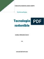 tecnologia sostenible