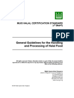 MUIS - Handling and Processing of Halal Food