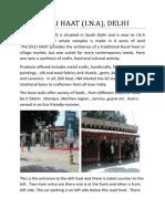 DILLI HAAT Case Study