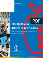 CAE High School Parent Guide Spanish Espanol
