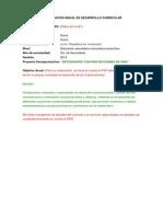 Planificación Anual de Quimica