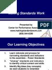 Designing Making Standards Work - Reeves