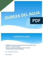Dureza Del Agua-Demanda de Cloro