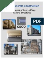 CIP Advantages to Parking Structures