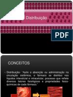 Farmacologia- Distribuição