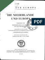 Die Niederlände und Europa