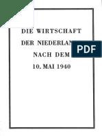 Die Wirtschaft der Niederlände nach dem 16. Mai 1940