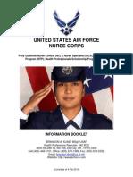 Usaf Nurse Corps-Information Booklet-4feb13(1)