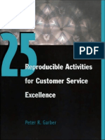 25 Reproducible Activities for Customer Service Excellence-HRD Press