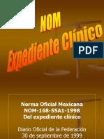 07 NOM Expediente CLÍNICO MÉXICO