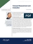 Forecast Measurement Evaluation White Paper