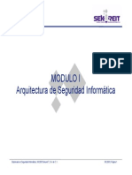 Modulo I Arquitectura Seguridad Informatica