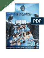 UNPRG Prospecto 2013FINAL.