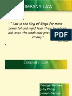 Company Law - Stocks & Shares