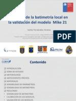 05-Influencia de La Batimetría Local en La Validación Del Modelo MIKE SW