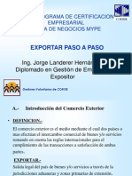 Exportacion Paso a Paso Jorge Landerer