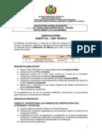 CDO 193 CBBA Instituto Tecnologico Berto Nicoli Sacaba