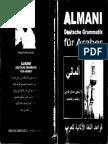 Arabisch - ألمانى - قواعد اللغة الألمانية للعرب- Almani - Deutsche Grammatik Für Araber