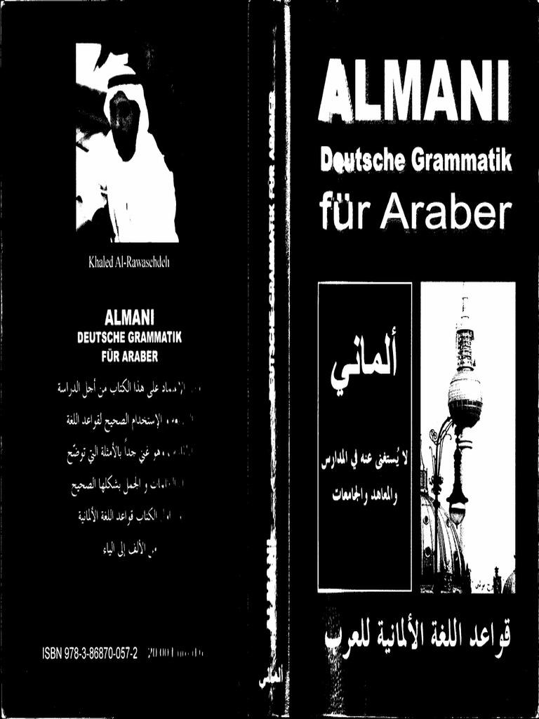 Almani Deutsche Grammatik Fur Araber Pdf