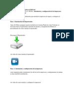 Configuracion de Impresora de Tikets Ec Printer 5890x Ingeniería y Administración en Software