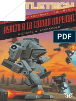 [BattleTech] [La Sangre de Kerensky 02] Stackpole, Michael a. - Asalto a La Ciudad Imperial (r1.1)