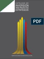Catalogo de Inversió para Proyectos Estratégicos Español