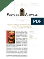 """Crítica a """"El Mago del Desierto"""", de J.L Flores"""
