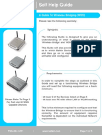 Guide to Wireless Bridging (WDS)