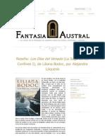 """Crítica a """"Los Días del Venado"""", de Liliana Bodoc"""