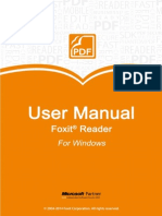 FoxitReader62 Manual
