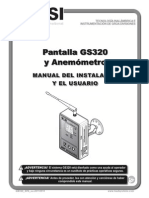 BTS LSI GM320 Manual Espanol