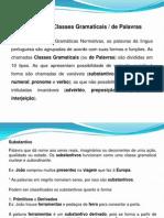 Classes Gramaticais - Substantivo