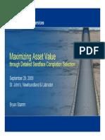 Maximizing Value Presentation