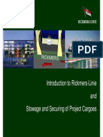 Rickmers Lines - Project Cargo Stowage & Securing[1]