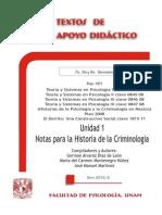 Notas para la Historia de la Criminologia - Alvarez D+¡az - Montenegro N+¦+¦ez - Mart+¡nez Manuel - TAD - 7-¦ 8-¦ y 9-¦ sem.pdf